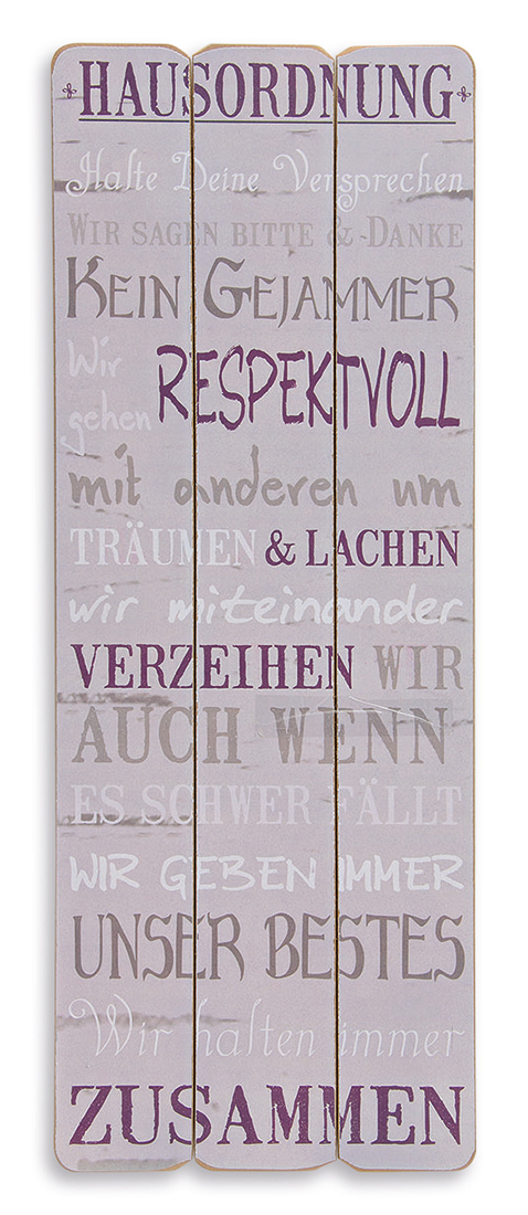 holz schild holzbild 80x30cm wandbild familie spruch wandschild wandobjekt deko ebay. Black Bedroom Furniture Sets. Home Design Ideas
