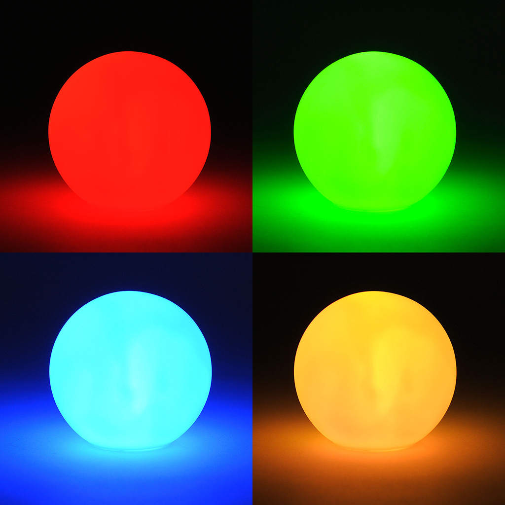 led lampe boule boule lumineuse avec changement de couleur lumi re ebay. Black Bedroom Furniture Sets. Home Design Ideas